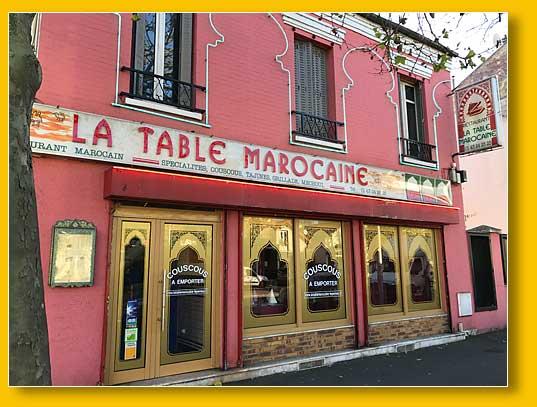 Restaurant au perreux sur marne la table marocaine for Restaurant le perreux